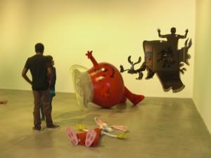 Dan Colen, Silhouette Wall Cuts, 2013